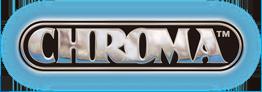 CHROMA 041701 Aluminum Decal